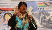 """El presidente Evo Morales recibe proyectos de alcaldes orureños para """"Mi Agua III"""" en su natal Orinoca"""