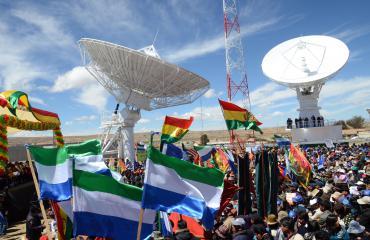 Bolivia inaugurará servicios comerciales del satélite Túpac Katari
