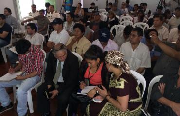 """La Feria """"Comunicando el Cambio"""" mostró el rostro de un nuevo país a los emigrantes bolivianos"""