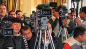 Cobertura de medios de comunicación- Foto: eju.tv