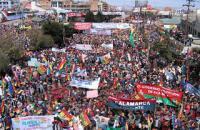 Día de la Dignidad Nacional convoca a miles en El Alto a 10 años de la 'Masacre de Octubre'