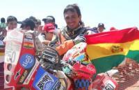 Evo Morales va por el rally Dakar en París