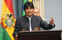 Presiente Morales inicia visita oficial de dos días a Francia