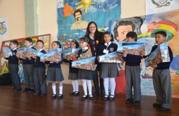 Concurso de murales organizado por la Armada cerró actividades por el Día del Mar