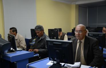 Ministerio de Comunicación concluye taller de alfabetización digital dirigido a jubilados